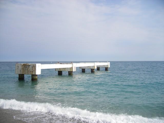 Extension d'un restaurant sur un ponton