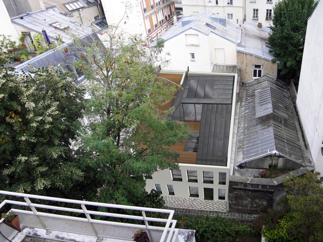 Construction neuve de logements Paris 15