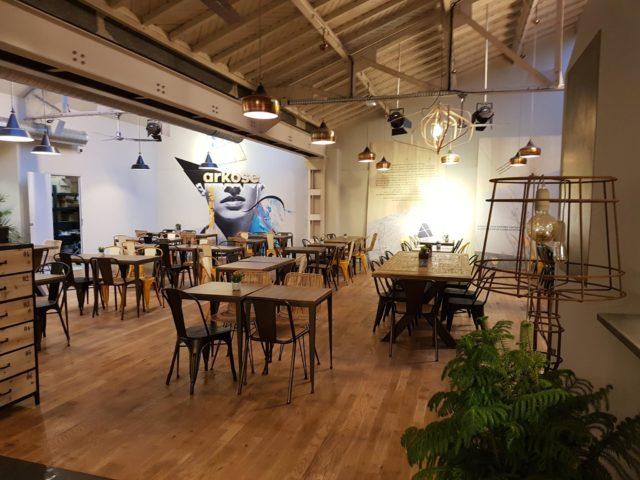 Salle de grimpe et restaurant Paris Nation